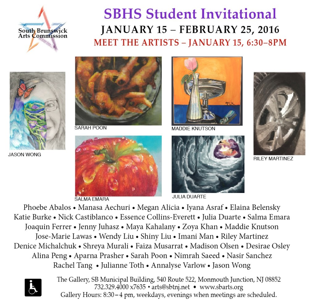 SBHS Invitational Art Show Announcement