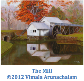 Painting The Mill by Vimala Arunachalam ©2012